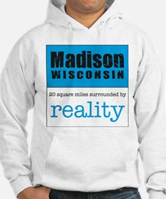 Madison Wisconsin surrounded Hoodie