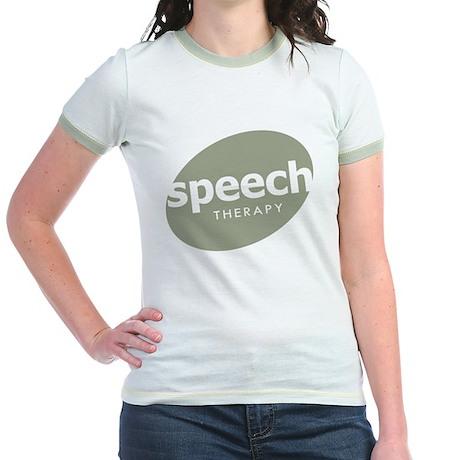 Speech Therapy Jr. Ringer T-Shirt