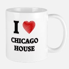 I Love Chicago House Mugs
