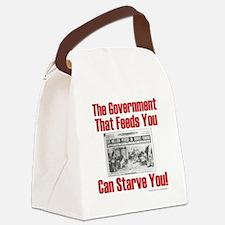 Gov't. Feed Canvas Lunch Bag