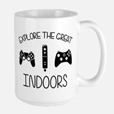 Explore The Great Indoors Video Games Mugs
