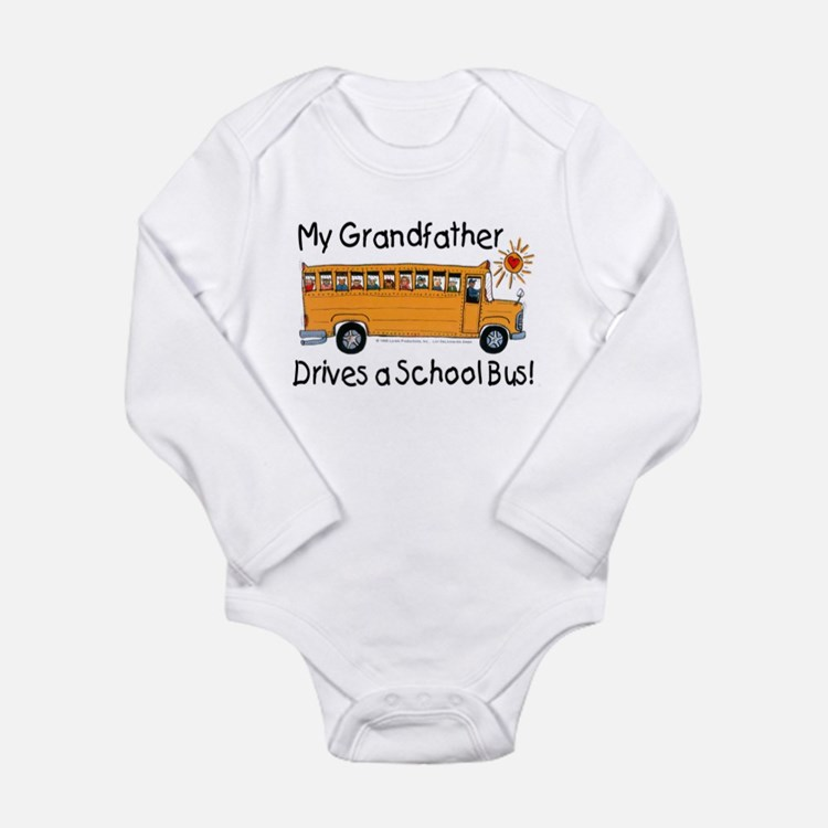 Grandfather Drives a Bus - Infant Creeper Body Sui