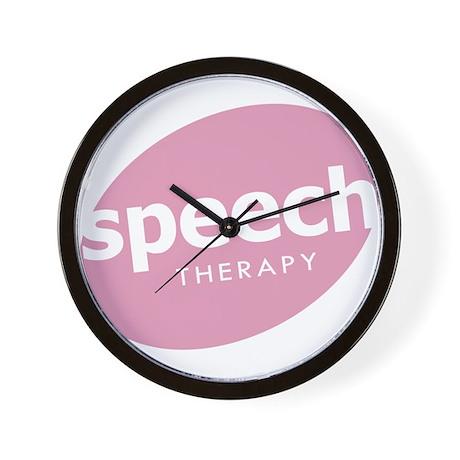 Speech Therapy Wall Clock