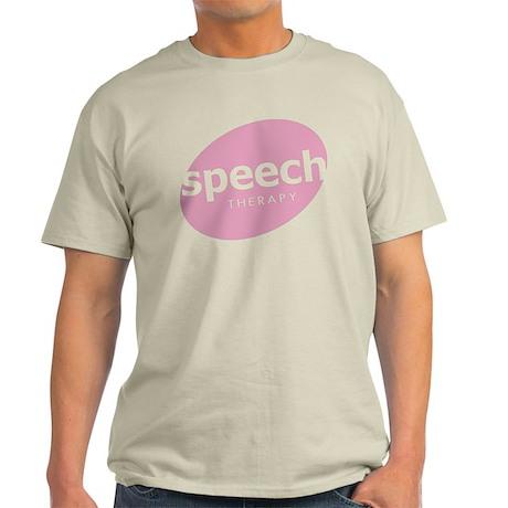 Speech Therapy Light T-Shirt