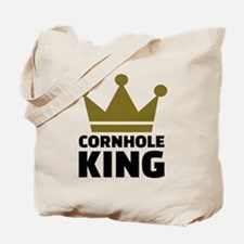 Cornhole king Tote Bag