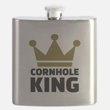 Cornhole king Flask