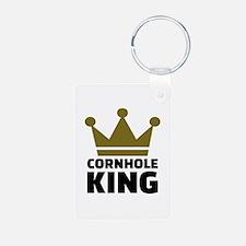 Cornhole king Aluminum Photo Keychain
