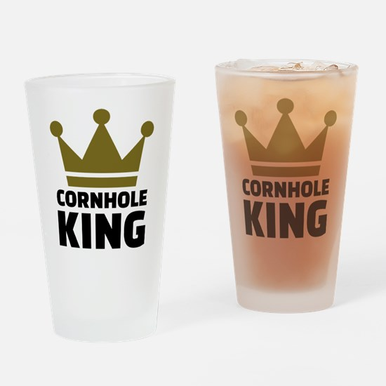 Cornhole king Drinking Glass
