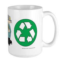 I Dig Recycling Mug