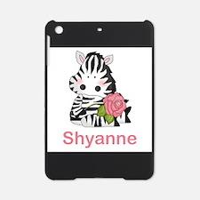 Shyanne's Zebra Rose iPad Mini Case