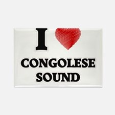 I Love Congolese Sound Magnets