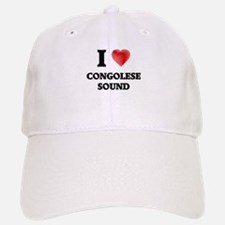 I Love Congolese Sound Baseball Baseball Cap
