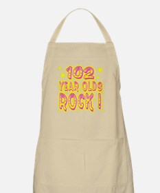 102 Year Olds Rock ! BBQ Apron