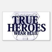 Police: True Heroe Decal
