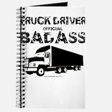 Truck Driver Official Badass Journal