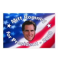 """Mitt Romney 2008"" Postcards (Package of 8)"