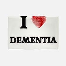 I Love Dementia Magnets