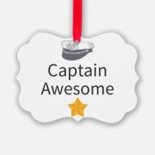 Captain Awesome Ornament