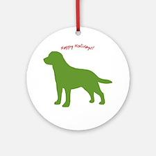 Happy Holidays! Ornament (Round)