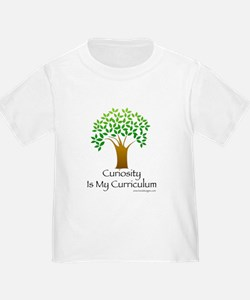 Curiosity Is My Curriculum T-Shirt