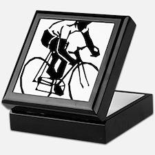 Cool Bike race Keepsake Box