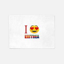 I love Eritrea 5'x7'Area Rug