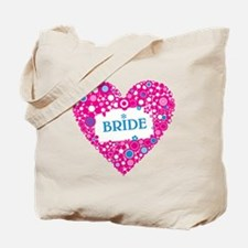 BRIDE HEART Tote Bag