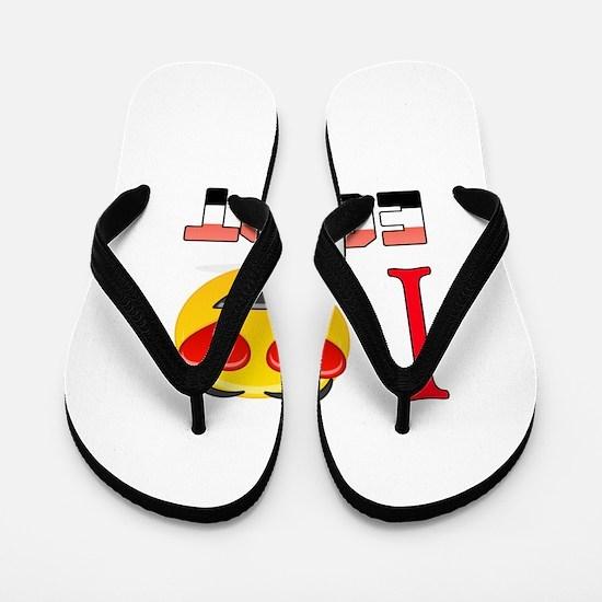 I love Egypt Flip Flops