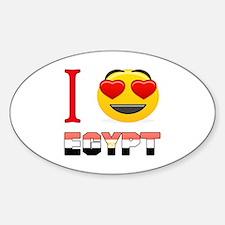 I love Egypt Decal