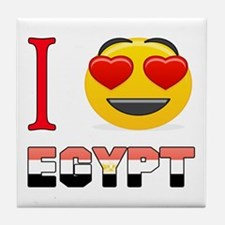 I love Egypt Tile Coaster