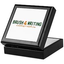 Brush writting B&N Keepsake Box