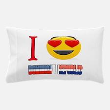 I love Dominican Republic Pillow Case