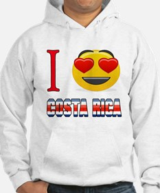 I love Costa Rica Jumper Hoody