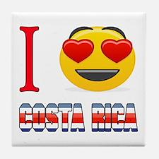 I love Costa Rica Tile Coaster