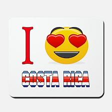 I love Costa Rica Mousepad