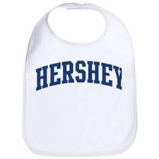 HERSHEY design (blue) Bib