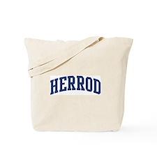HERROD design (blue) Tote Bag