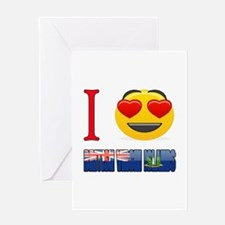 I love British Virgin Islands Greeting Card