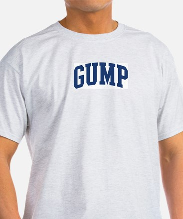 GUMP design (blue) T-Shirt
