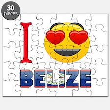 I love Belize Puzzle