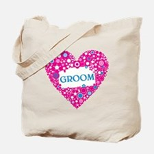GROOM HEART Tote Bag