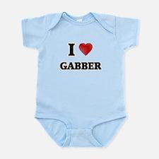 I Love Gabber Body Suit