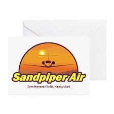 Sandpiper Air Greeting Cards (Pk of 10)