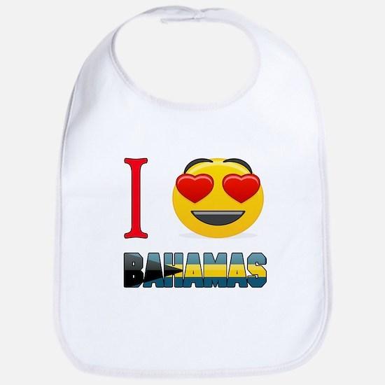 I love Bahamas Bib