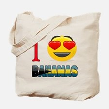 I love Bahamas Tote Bag