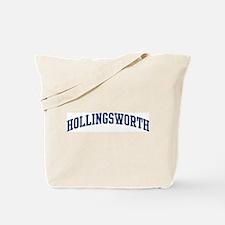 HOLLINGSWORTH design (blue) Tote Bag