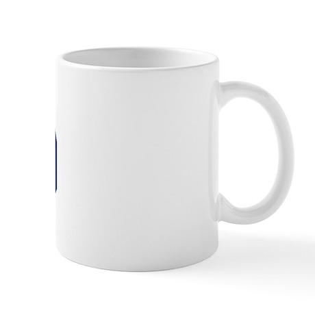 Harrod design blue mug by surnamealot for Blue mug designs