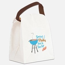 Steaks In Air Canvas Lunch Bag