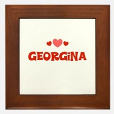 Georgina Framed Tile