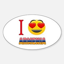 I love Armenia Decal